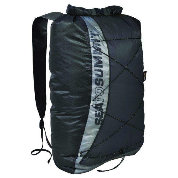 Sea To Summit UltraSil Dry Day Pack 20 liter 90 gram zwart  SEATOULTRADAYPACKZWART
