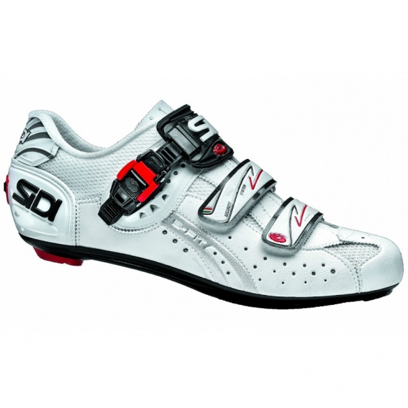 Sidi genius 5 fit carbon mega raceschoen wit  SIDIGENIUS5WITmega