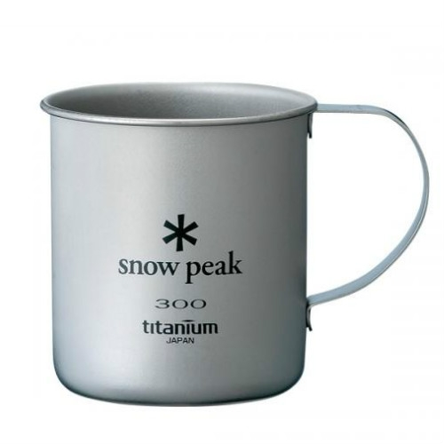 Snow Peak titanium single wall cup 300 ml (MG-042)  SPMG042