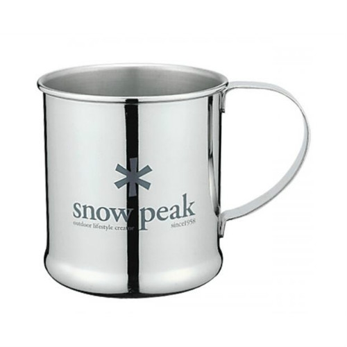 Snow peak stainless steel mug 300 ml (E-010)  SPE010