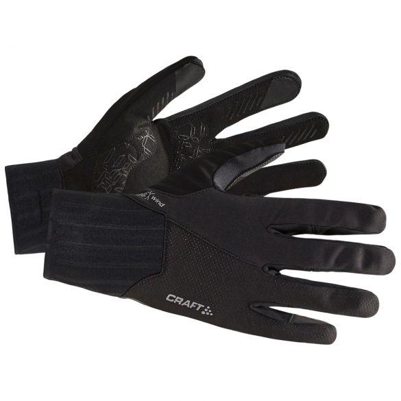 Craft All weather fietshandschoenen zwart  1907809-999000