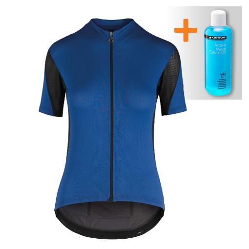 Assos Rally SS fietsshirt blauw dames  522020874