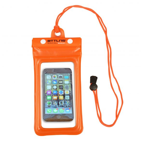 BTTLNS Endymion 1.0 drijvende waterdichte telefoonhoes oranje  0620001-034