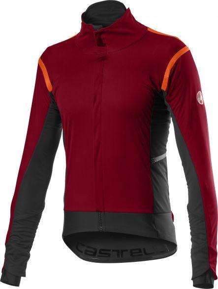 Castelli Alpha RoS 2 fietsjack donker rood heren  20502-622