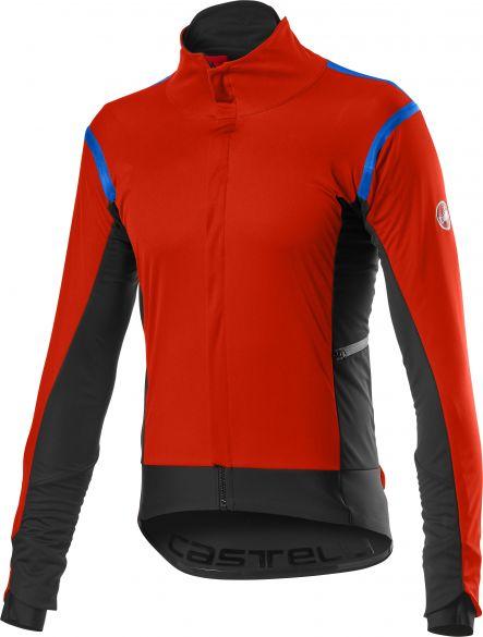 Castelli Alpha RoS 2 light fietsjack rood heren  20503-656