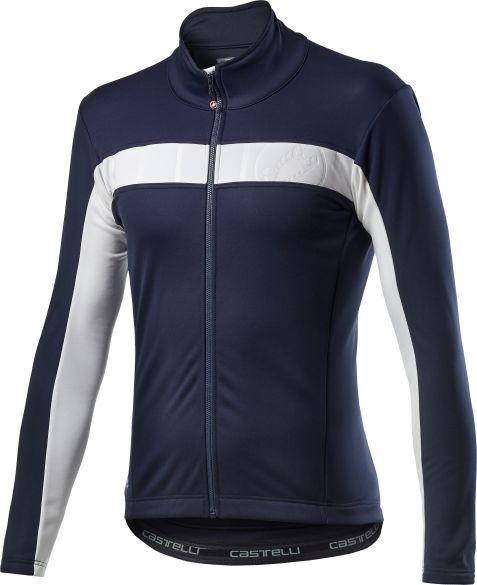 Castelli Motrirolo VI fietsjack blauw heren  20506-414