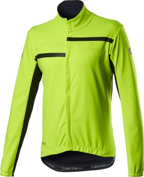 Castelli Transition 2 fietsjack geel heren  20507-032