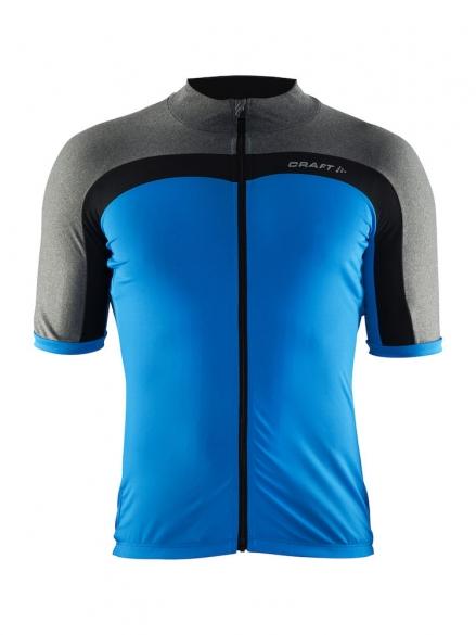Craft Velo fietsshirt grijs/blauw heren  1903993-2355