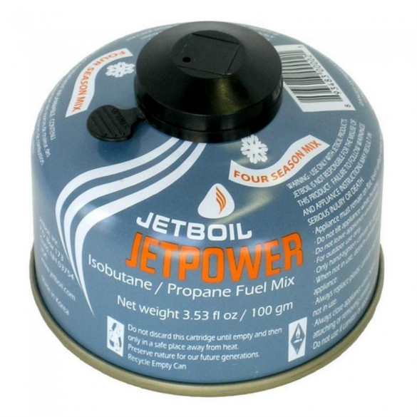 Jetboil Jetpower gascartridge 100 gram  972295