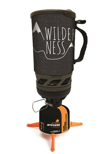 Jetboil brander flash wilderness campingkooktoestel 1 liter  973598