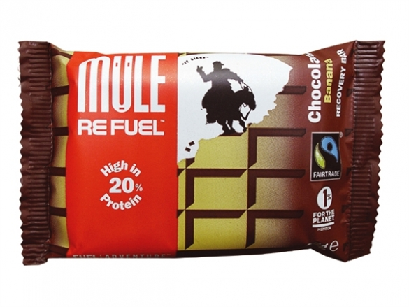 MuleBar Refuel Chocolate and banana 20 x 65 gram  00973791