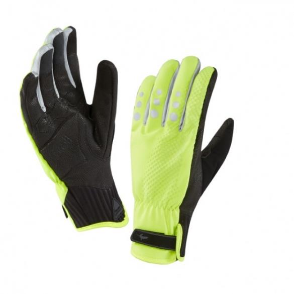SealSkinz All weather cycle XP handschoen geel zwart  1211508-701