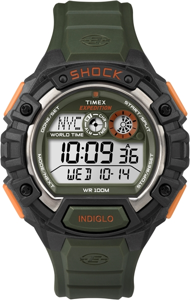 Timex Expedition Global Shock Groen/Oranje  00461709