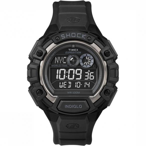 Timex Global Shock horloge zwart   00461757