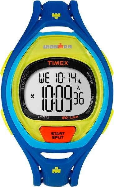 Timex Sleek 50 Color Block Blue  00461781Voorraad