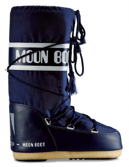 Moon Boot Nylon dames maat 23-26 blauw  TM14004400A-02-23/26-MAAT