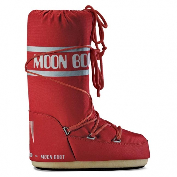 Moon Boot Nylon dames maat 27-30 rood  TM14004400B-03-27/30-MAAT