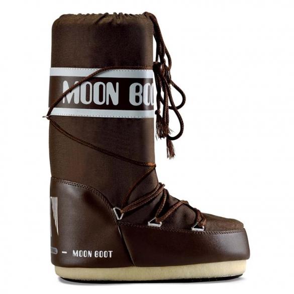 Moon Boot Nylon dames maat 42-44 bruin  TM14004400D-50-42/44-MAAT