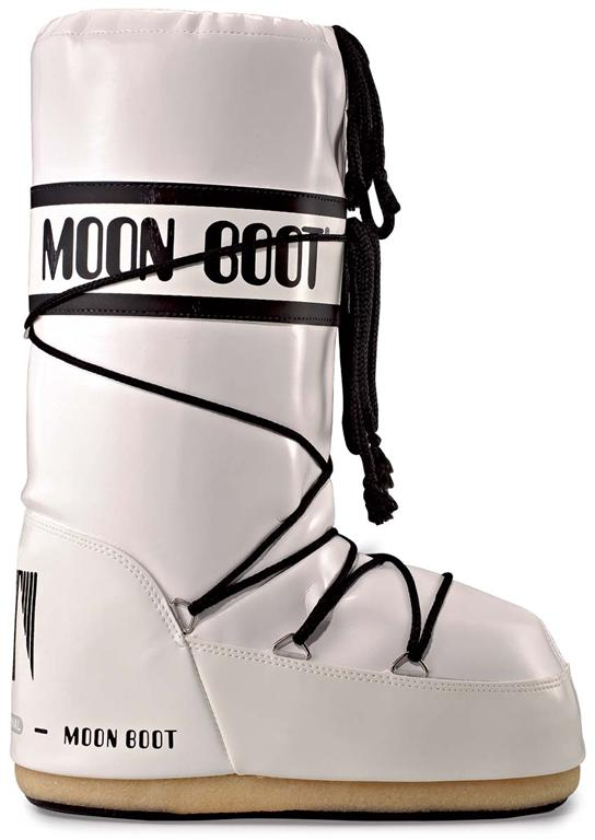 Moon Boot Vinil dames maat 35-41 wit/zwart  TM14009700C-01-39/41-MAAT