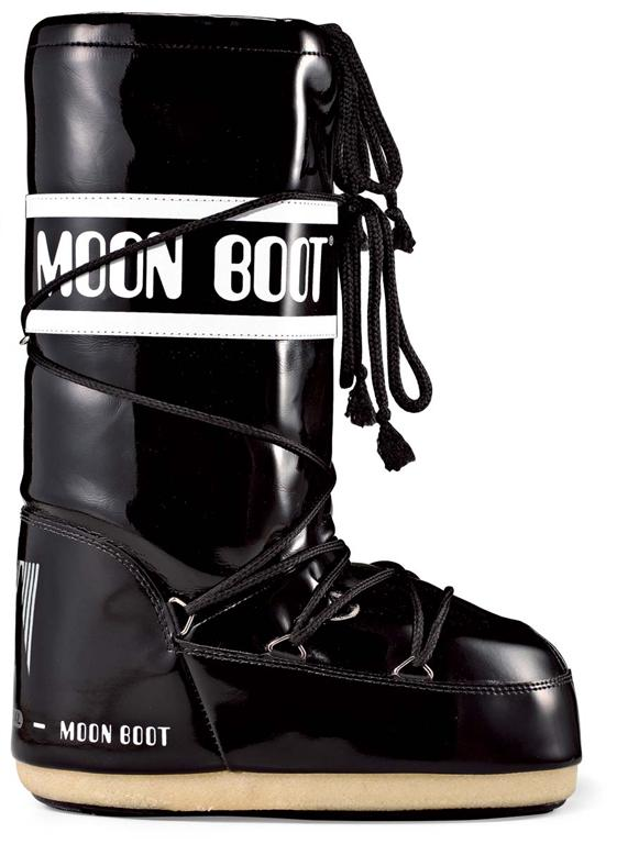 Moon Boot Vinil dames maat 35-38 zwart/wit  TM14009700C-02-35/38-MAAT