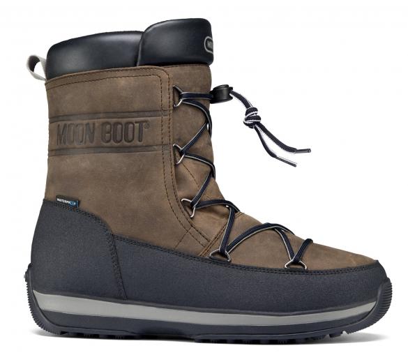 Moon Boot LEM Lea heren bruin/zwart  TM14200400-001-7-MAAT