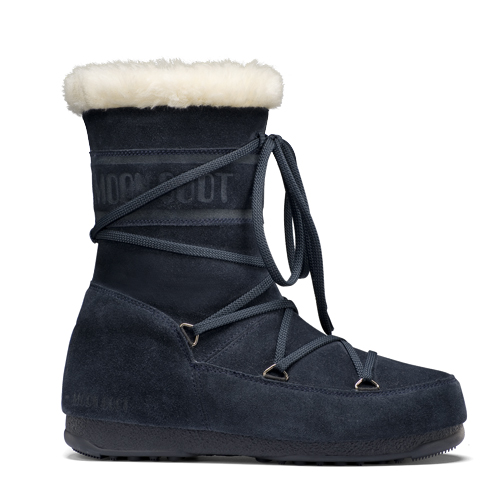 Moon Boot W.E. Butter Mid dames blauw  TM24000400