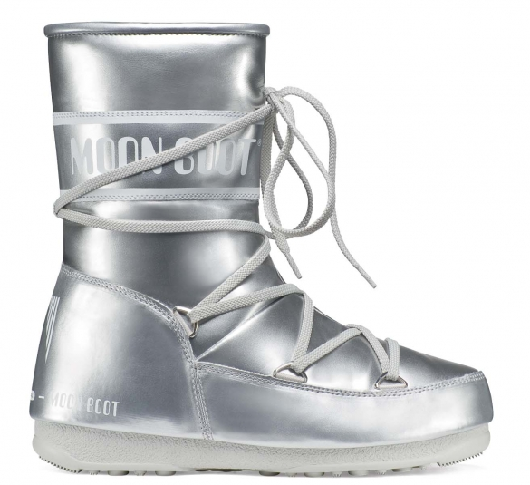Moon Boot W.E. P.Jump.Mid dames zilver  TM24000800
