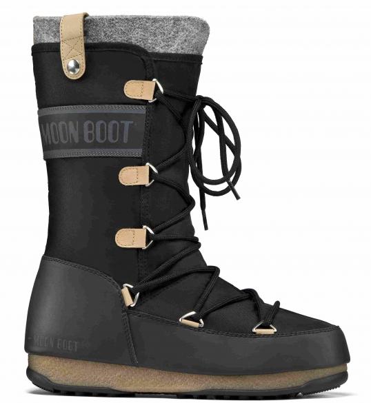 Moon Boot W.E. Monaco Felt dames zwart  TM24003200