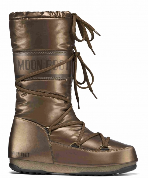 Moon Boot W.E. Soft Met dames bronze  TM24003700