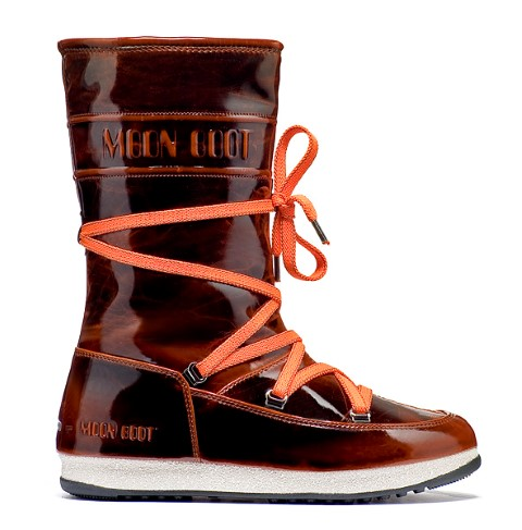 Moon Boot 5Th Avenue dames oranje/wit  TM24100200