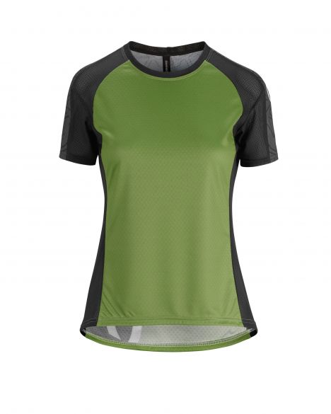 Assos Trail SS fietsshirt groen dames  522020676