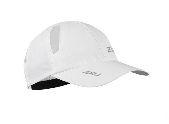 2XU Run Cap wit  UR1188f-WHT/WHT