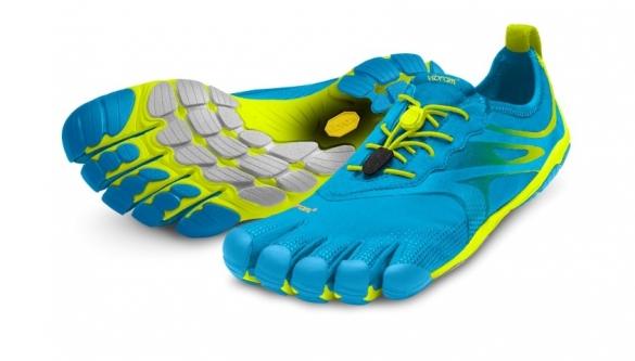 Fivefingers Bikila Evo heren blauw/geel   VF14M3503