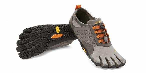 Fivefingers Trek Ascent heren grijs/zwart/oranje   VF15M4702