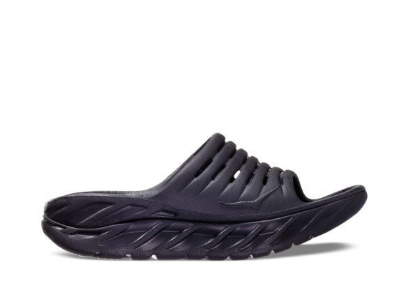 Hoka One One ORA Recovery Slide slippers zwart dames  1099674-BBLC