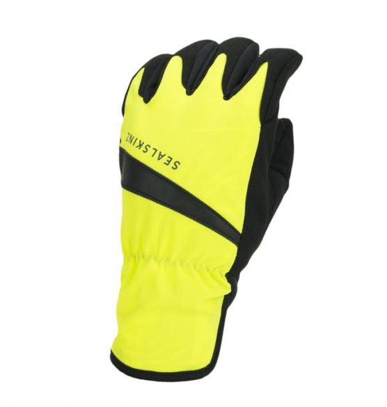 SealSkinz All weather fietshandschoenen neon geel/zwart  12100080-0017