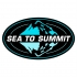 Sea to Summit clear waterdichte zak 20 liter geel 974834  00974834