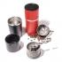 Cafflano Koffiemaker klassic rood  00974032