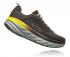 Hoka One One Bondi 6 hardloopschoenen zwart/geel heren  1019269-BOPV